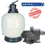 Astral swimming pool filter and pump