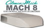 Coleman Mach 8  Ultra Low Profile Air Conditioner For Campervans, Motorhomes and Caravans