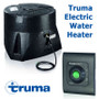 The Truma electric water heater caravan campervan and motorhome boiler includes a control panel to operate.
