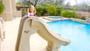 SlideAway Removable Swimming Pool Slide