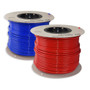 John Guest 12mm semi rigid red and blue water pipe available in metre lengths or a complete 100 metre roll