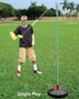 Deluxe swing ball pro great for one or two people to play