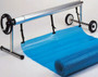 Mobile Portable In Ground Swimming Pool Solar Cover Reel System