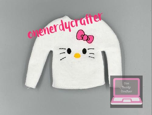 Hello Kitty Inspired Elf Sweater