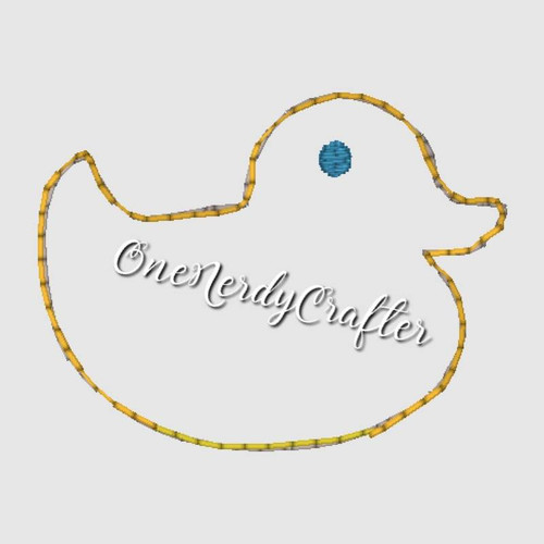 Duck Flasher Feltie Embroidery Digital Design File