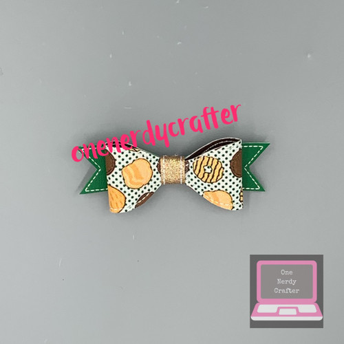 Girl Scout Cookies Bow