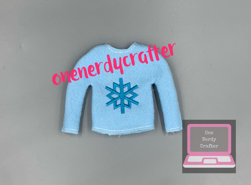 Snowflake Elf Sweater