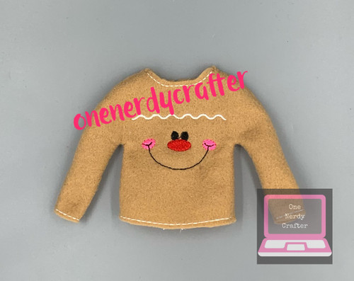 Gingerbread Elf Sweater