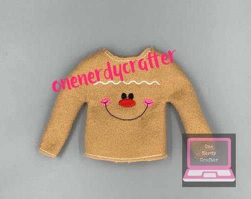 Gingerbread Elf Sweater