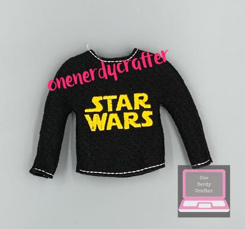 Space War Elf Sweater