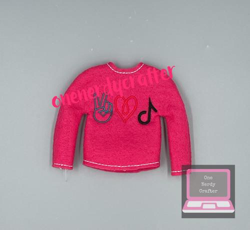 Peace Love and Tik Elf Sweater