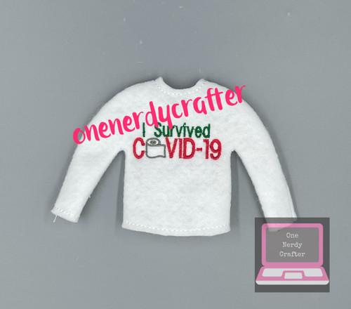 2020 Covid Elf Sweater