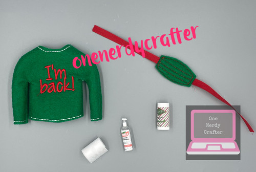 Elf Covid Kit with Sweater