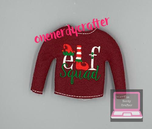 Elf Squad Elf Sweater