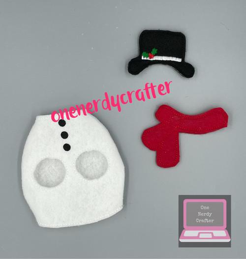Reindeer Snowman Costume