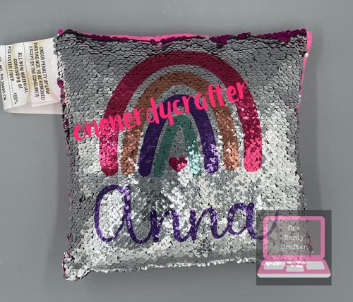 Custom Magic Sequin Pillows