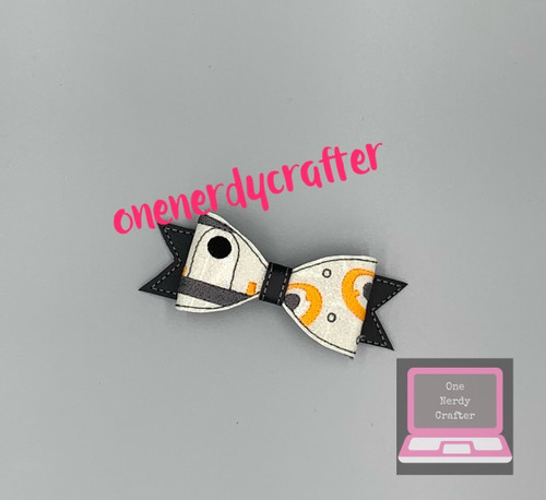 BB8 Inspired Bow
