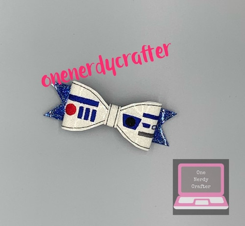 R2D2 Inspired Bow