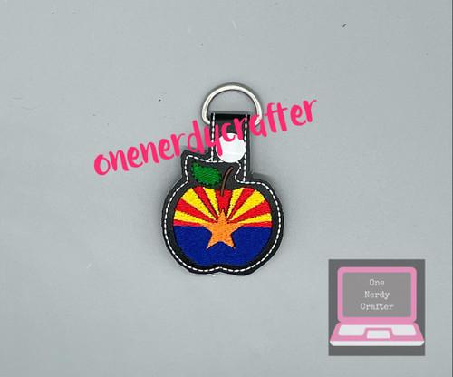 Arizona Teachers Keychain