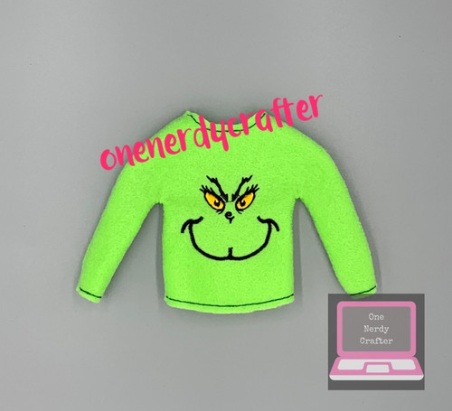 Mean One Elf Sweater