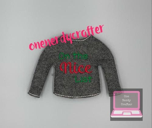 Nice List Elf Sweater