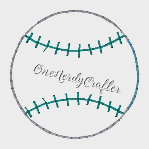 Baseball/Softball Flasher Feltie Embroidery Digital Design