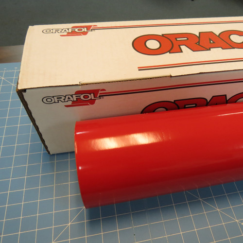 Red Oracal 751 Sign Vinyl (click for lengths & width)