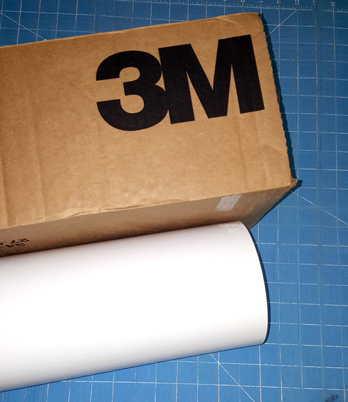 """White 24"""" Roll of 3M ScotchCal Series 50 Sign Vinyl"""