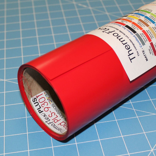 "Red Thermoflex 15"" Roll (Click for Lengths)"