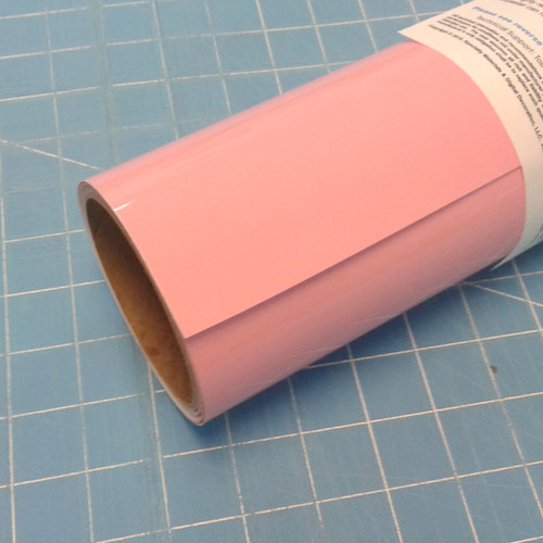"""Medium Pink Thermoflex 15"""" Roll (Click for Lengths)"""