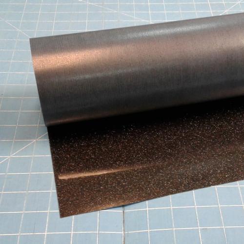 """Black Siser Glitter 20"""" Roll (Click for Lengths)"""