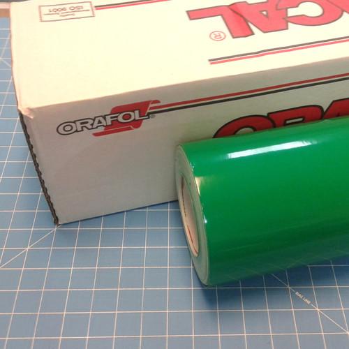 Green Oracal 651 Sign Vinyl (select length & width)