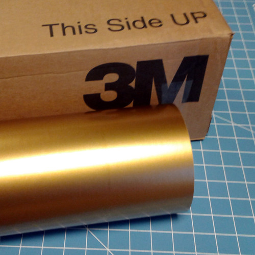 """Gold 24"""" Roll of 3M ScotchCal Series 50 Sign Vinyl"""