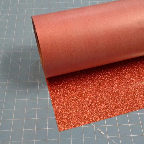 """Copper Siser Glitter 20"""" Roll (Click for Lengths)"""