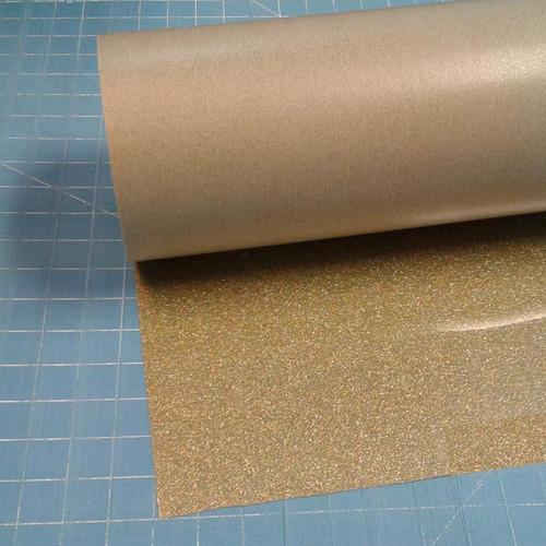 """Gold Confetti Siser Glitter 20"""" Roll (Click for Lengths)"""