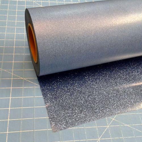 """Old Blue Siser Glitter 20"""" Roll (Click for Lengths)"""