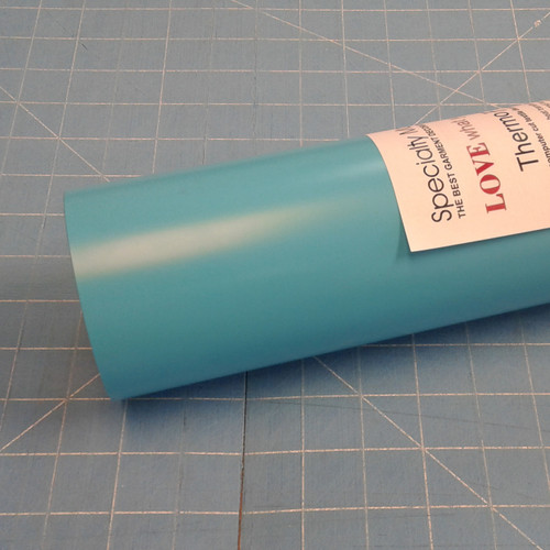 "Tiffany Blue Thermoflex 15"" Roll (Click for Lengths)"