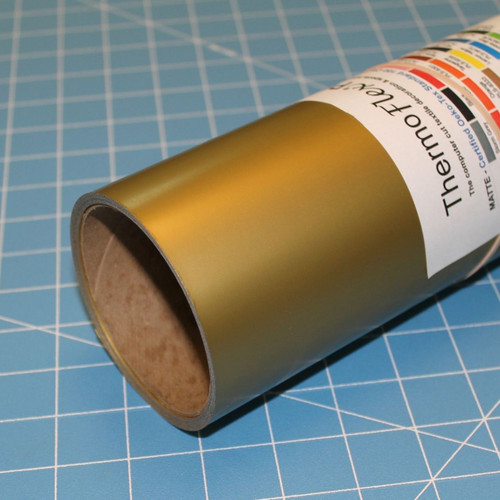 "Old Gold Thermoflex 15"" Roll (Click for Lengths)"