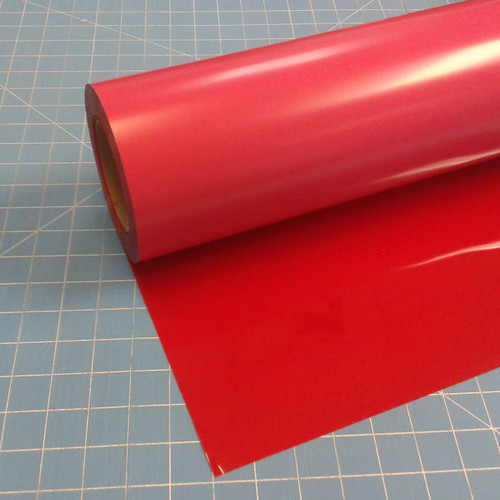 "Red Siser Stretch 15"" Roll (Click for Lengths)"
