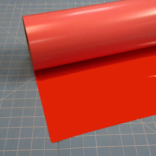 "Orange Siser Stretch 15"" Roll (Click for Lengths)"