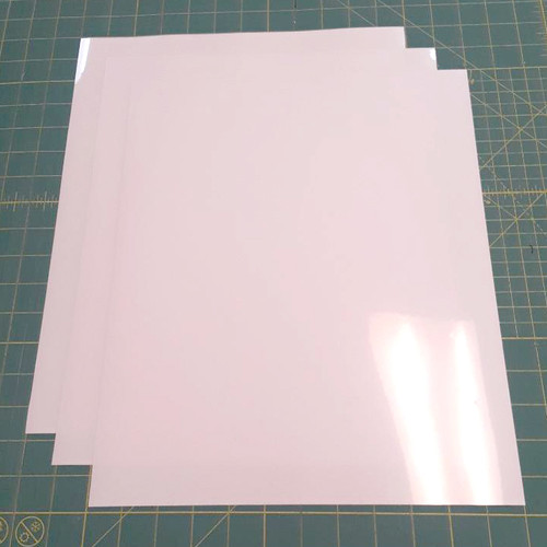 "White Siser Stretch Three (3) 15"" x 12"" Sheets"