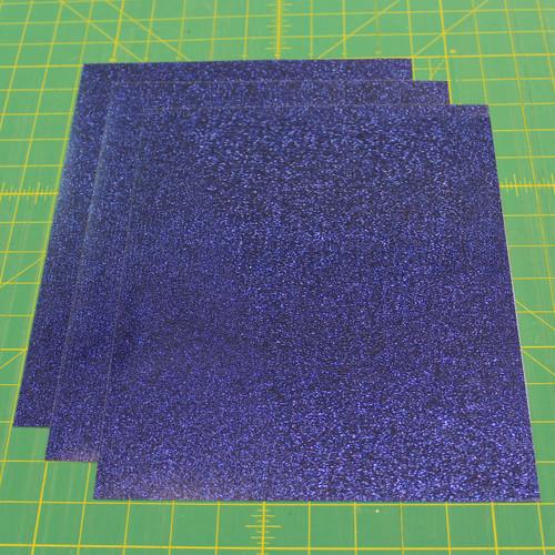 "Royal Siser Glitter Three (3) 10"" x 12"" Sheets"