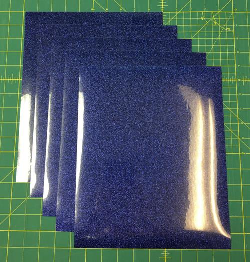 "Royal Siser Glitter Five (5) 10"" x 12"" Sheets"