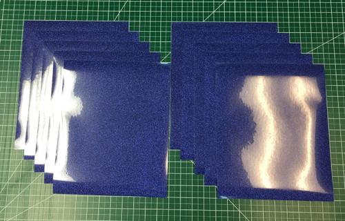 """Royal Siser Glitter Ten (10) 10"""" x 12"""" Sheets"""