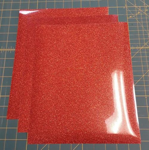 """Copper Glitterflex Three (3) 10"""" x 12"""" Sheets"""