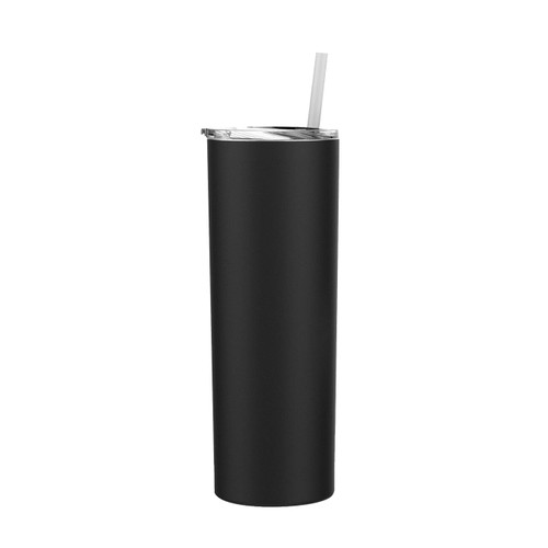 Black Stellar (Click for Quantities) 20 oz. Skinny Steel Double Wall Stainless Tumbler