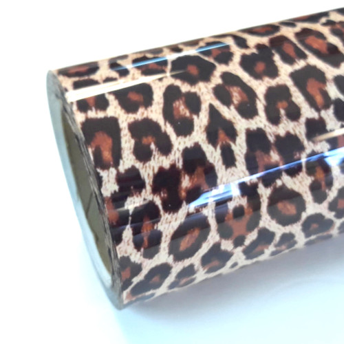 "Leopard Thermoflex Fashion Patterns 12"" x 12"" Sheets (Click for Quantities)"