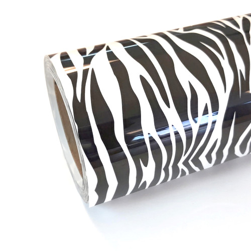 "Zebra Thermoflex Fashion Patterns 12"" Roll (Click for Lengths)"
