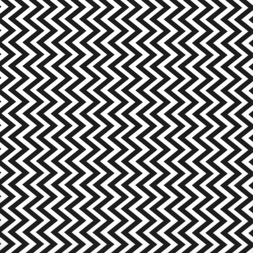 "Chevron BW Thermoflex Fashion Patterns 12"" x 12"" Sheets (Click for Quantities)"