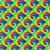 "Tye Dye Thermoflex Fashion Patterns 12"" x 12"" Sheets (Click for Quantities)"